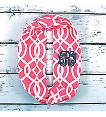 Pink Trellis Infinity Scarf #BIQ589-PINK