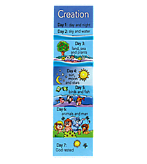 Pack of Ten Creation Bookmarks #BMP051