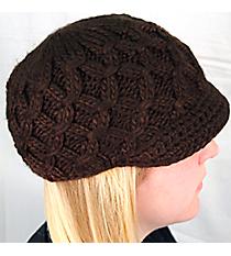 Brown Knit Beanie #BN1981-BROWN