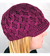Purple Knit Beanie #BN1981-PURPLE