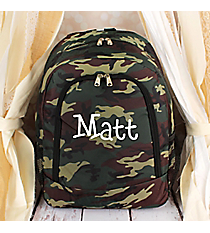 Camo Backpack #BP5016-513