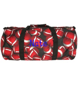 "16"" Roll Duffle Bag in Football Print #YT-3015"
