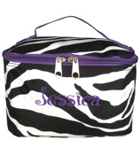 Zebra Case with Purple Trim #ZEB277-PURPLE