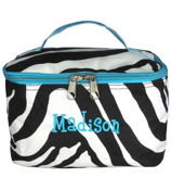 Zebra Case with Turquoise Trim #ZEB277-TURQ