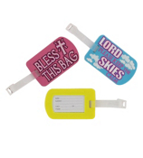 One Tag-A-Long Inspirational Luggage Tag #LUGT-INSP-SHIPS ASSORTED