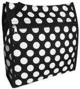 Black with White Polka Dots Shopper Tote #PH3013-635