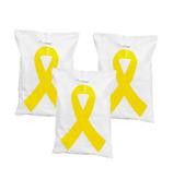 50 Yellow Ribbon Plastic Treat Bags #3/3616