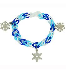 1 Winter Fun Loop Bracelet with Snowflakes #13650375