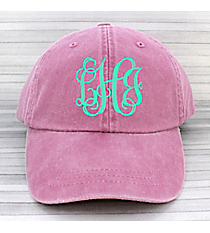 Washed Raspberry Baseball Cap #LP101