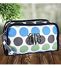 Tri-Colored Polka Dots Travel Bag #CB12-1331-1