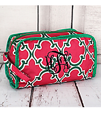 Pink and Green Moroccan Travel Bag #CB12-708-P