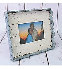 "8.25"" x 9.75"" Vintage Scalloped Edge 6x4 Photo Frame #CFEM0009hoto Frame Wall Shelf #CFEC0156"