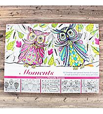 Inspiring Moments Adult Coloring/Craft Book #CLR013