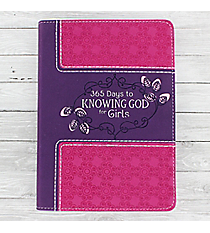 365 Days to Knowing God for Girls Book #DKG006