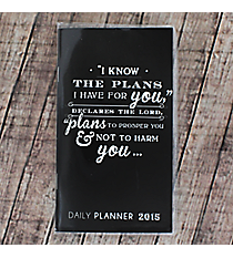 Jeremiah 29:11 Daily Planner 2015 #DP275