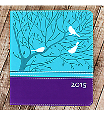 Turquoise and Purple 2015 Planner #DPW114