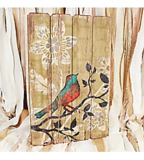 26 x 17 Bird on a Branch Wall Art #DSEF0041