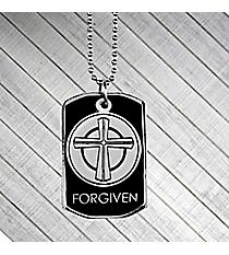 """Forgiven"" Witness Gear Dog Tag Necklace #DTG023"