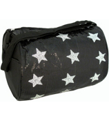 Black Sequined Star Duffle Bag #CBG28286-B