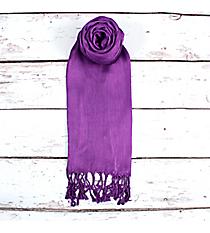 Purple Pashmina Scarf #EAPS0130-PP