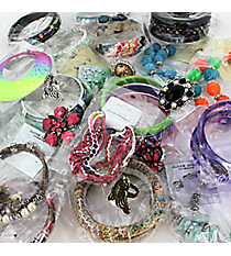 SPECIAL!!! 1 DOZEN EARRINGS, BRACELETS, AND RINGS ASSORTMENT PACK #BRC-EAR/BRC/RNGASST