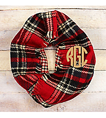 Fireside Chats Infinity Scarf, Red #EASC8436-RD