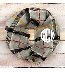 Autumn Air Infinity Scarf, Grey #EASC8469-GE