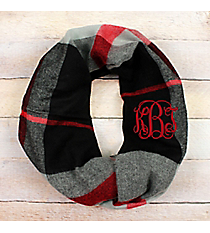 Around the Campfire Infinity Scarf, Black #EASC8505-BK