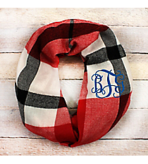 Around the Campfire Infinity Scarf, Red #EASC8505-RD