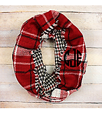 Fall I've Ever Wanted Infinity Scarf, Red #EASC8506-RD