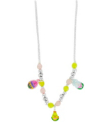 "One ""Eggciting"" Easter Charm Necklace #ESTR-KNK24-ASSORTED"