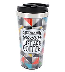 """Instant Teacher"" Double Wall Travel Tumbler #F149986"