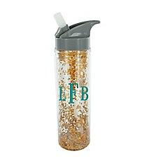 Glitter and Glamour 18 oz. Double Wall Water Bottle #F161513