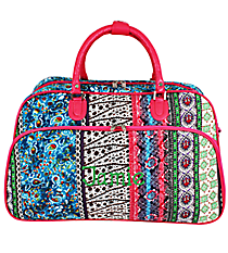 Bohemian Spirit Large Bowler Bag #F2014-647-F