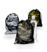 One Camouflage Drawstring Bag #26/2112