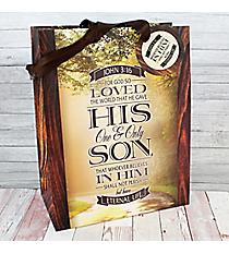 John 3:16 Medium Gift Bag #GBA094