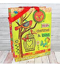Cherished & Loved Medium Gift Bag #GBA137