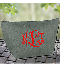 Grey Jute Pouch #GE-11GRY