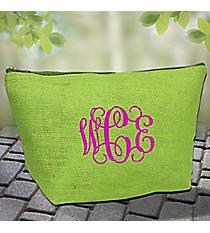 Green Jute Pouch #GE-11GRN