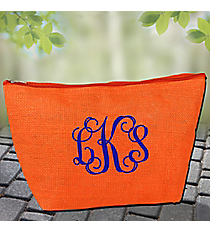Orange Jute Pouch #GE-11OR