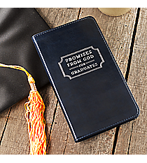 Promises from God For Graduates Navy LuxLeather Book #GP46