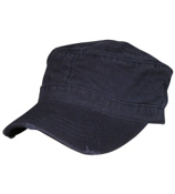 Navy Distressed Cadet Cap #62-792-004