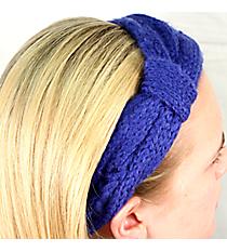 Blue Knit Headwrap #HB1714-BLUE