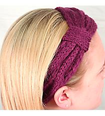 Eggplant Knit Headwrap #HB1714-EGGPLANT