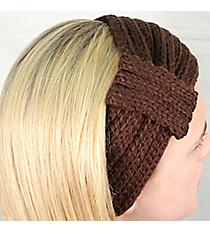 Brown Knit Headwrap #HB1976-BROWN