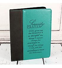 Serenity Prayer LuxLeather iPad/iPad2 Cover #IPC005