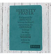 Serenity Prayer LuxLeather Flexcover Journal #JL056