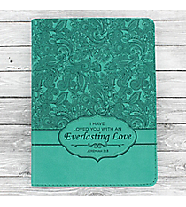 Jeremiah 31:3 'Everlasting Love' LuxLeather Flexcover Journal #JL191Brown LuxLeather Flexcover Journal #JL151