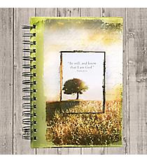 Psalm 46:10 Large Wirebound Journal #JLF057