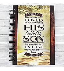 John 3:16 Large Wirebound Journal #JLF114